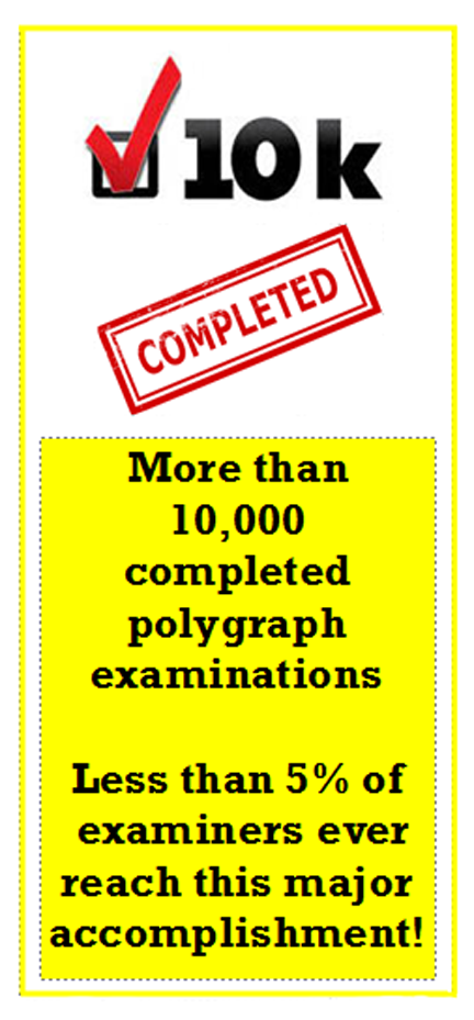 more than 10000 polygraph tests