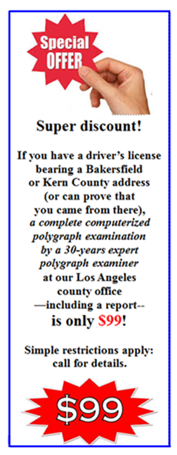 Bakersfield polygraph test near me