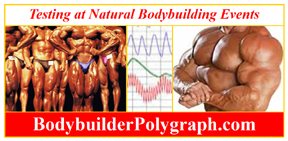 bodybuilder polygraph HGH Human Growth Hormone
