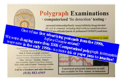 some polygraph examiners will never be bribed